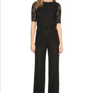 Diane Von Furstenberg black kendra jumpsuit